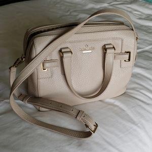 Kate spade new York beige shoulder bag
